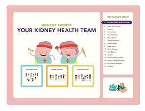 1 module Your kidney health team